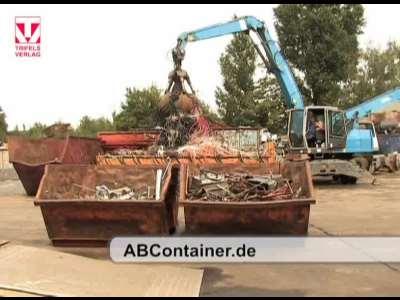 ABContainer.de Andy Biedermann, Schrott - Container