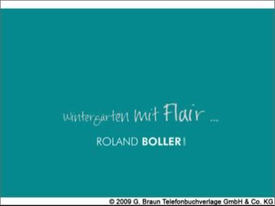 Roland Boller GmbH Wintergärten mit Flair
