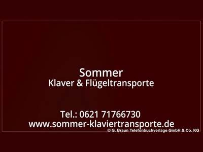 Stefan Sommer Klavier- & Flügeltransporte