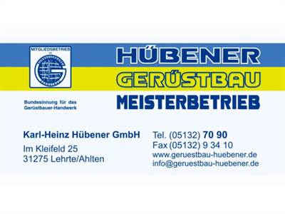 Karl-Heinz Hübener GmbH Gerüstbau-Meisterbetrieb