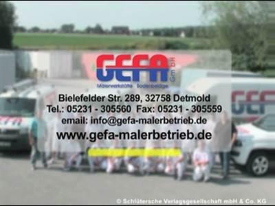 GEFA GmbH Malerwerkstätte & Bodenbeläge