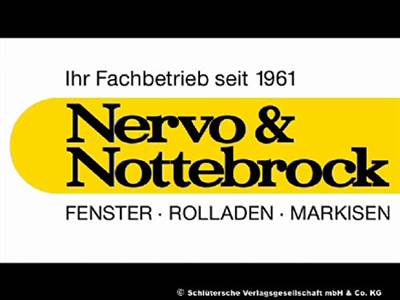 Nervo & Nottebrock GmbH Rollladen, Markisen
