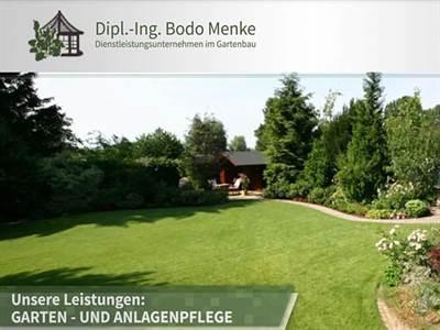 Menke Bodo Dipl.-Ing. Dienstleistungsunternehmen im Gartenbau