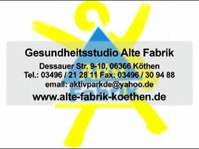 Fitnesstudio Alte Fabrik