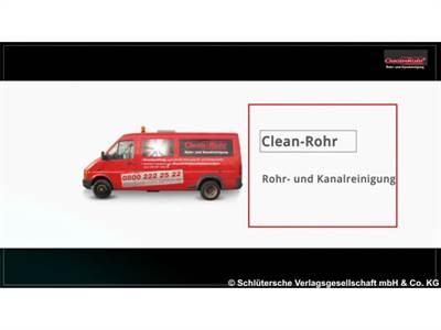 Clean-Rohr Service Hanse ... seit 20 Jahren das Original
