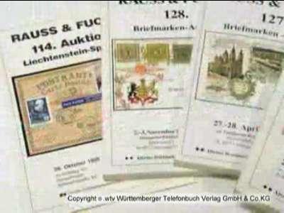Ältestes Briefmarkenauktionshaus Württembergs Rauss & Fuchs GmbH