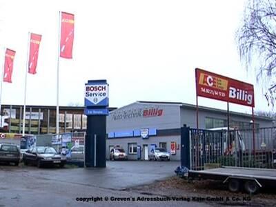 Billig Bosch Car Service + Abschleppdienst