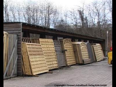 KÖRNER ZAUNANLAGEN - Gartenholz