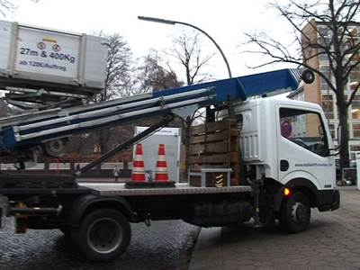 Löschmann / Halteverbote Transporte Möbellifte Umzüge
